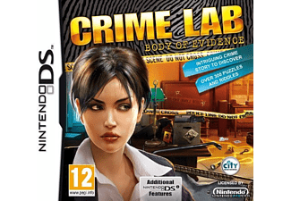 ESEN Crime Lab Body Of Evidence DS Nintendo