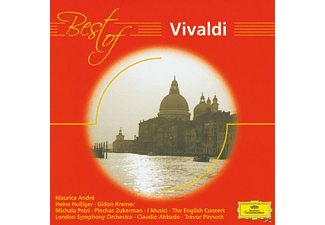 VARIOUS, Kremer/Holliger/Andre/Abbado/Pinnock/LSO/I Musici+ - BEST OF VIVALDI [CD]