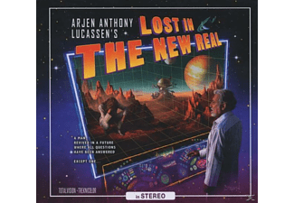 Arjen Anthony Lucassen - Lost In The New Real (Limited Edition) - (CD EXTRA/Enhanced)