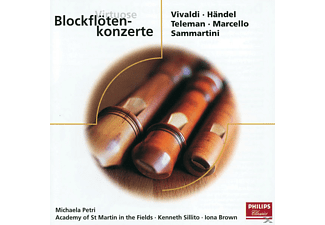 Brown, Asmf, Petri/Sillito/Brown/AMF - Virtuose Blockflötenkonzerte - (CD)