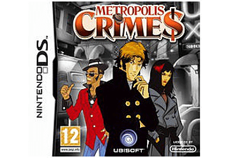 ESEN Metropolis Crimes DS Nintendo