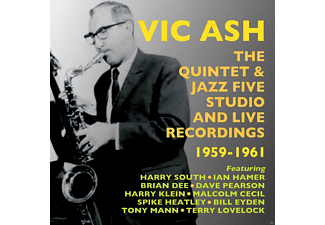 Vic Ash - The Quintet & Jazz Five Studio & Live Rec.1959-61 [CD]