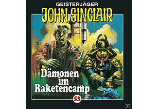 John Sinclair 53: Dämonen im Raketencamp - 1 CD - Horror