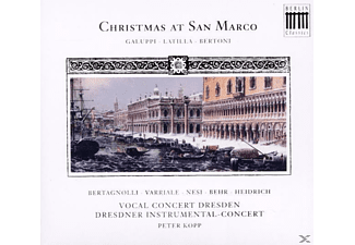 Vocal Concert Dresden - Christmas At San Marco - (CD)