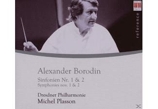 Michel Plasson, Michel & Dp Plasson - Sinfonien 1 & 2 - (CD)