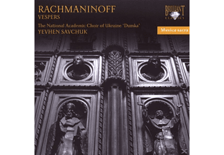 The National Academic Choir Of Ukraine, The National Academic Choir Of Ukraine 'dumka' - Musica Sacra: Rachmaninoff-Vespers - (CD)