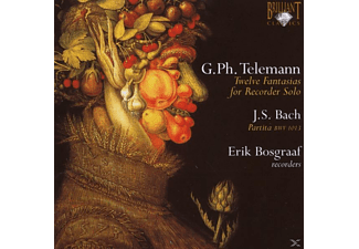 Georg Philipp Telemann - Fantasias For Solo Recorder - (CD)