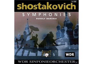 VARIOUS, Rudolf Wdr Sinfonieorchester - Shostakovich: Symphonies (Comp - (CD)