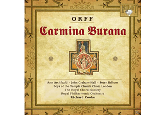 Ro Boys Of The Temple Church Choir, The Royal Boys Of The Temple Church Choir London - Carmina Burana - (CD)