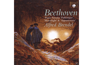 Alfred Brendel - Famous Beethoven Piano Sonatas - (CD)