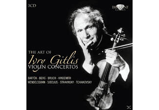 Ivry Vienna Symphony Orchestra & Gitlis - The Art Of Ivry Gitlis: Violin Concertos - (CD)