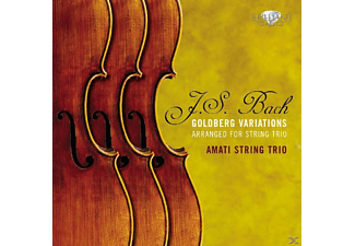 Amati String Trio - Goldberg Variations Arranged For String Trio [CD]