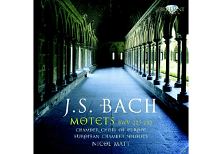 Chamber Choir Of Europe, Nicol Matt, European Chamber Soloists, N. Chamber Choir Of Eu/eu Chamber Soloists/matt - Bach: Motetten Bwv 225-230 - (CD)