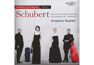 Diogenes Quartet - Schubert: Complete String Quartets Vol. 1 - (CD)