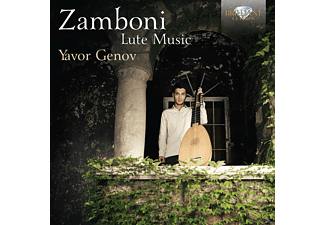Yavor Genov - Lute Music - (CD)