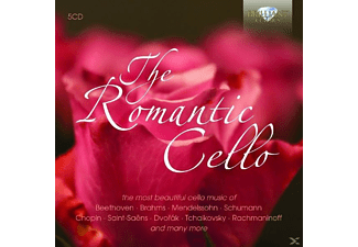VARIOUS - The Romantic Cello - (CD)
