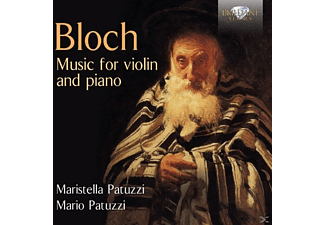 Maristella Patuzzi, Mario Patuzzi - Music For Violin And Piano - (CD)