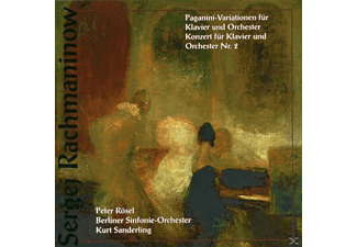 Bso, K. Sanderling, Peter Rösel - Paganini-Variationen/+ - (CD)