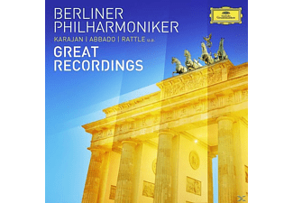 Berliner Philharmoniker - BERLINER PHILHARMONIKER-GREAT RECORDINGS [CD]