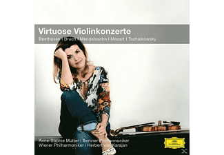 VARIOUS, Anne-sophie/karajan/bp/wp Mutter - Anne-Sophie Mutter: Virtuose Violinkonzerte (Cc) [CD]