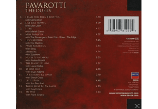 Luciano Pavarotti, Pavarotti/Carey/Dion/John/Bono/Sting/+ - Best Of Pavarotti & Friends-The Duets [CD]
