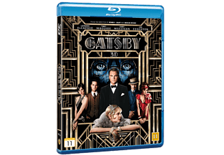 The Great Gatsby Drama Blu-ray 3D
