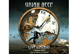 Uriah Heep - Live At Koko (Ltd.Digipak+Dvd) - (CD + DVD)