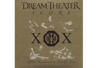 Dream Theater - Score-20th Anniversary World Tour - (CD)