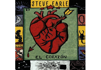 Steve Earle - El Corazon - (CD)