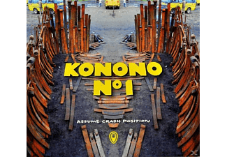 Konono No1 - Assume Crash Position - (CD)
