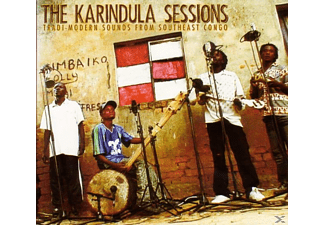 Bena Ngoma, B.B.K., Bana Lupemba, Bana Simba - The Karindula Sessions - (CD)