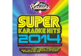 VARIOUS - Super Karaoke Hits 2014 [CD]