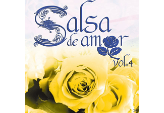 VARIOUS - Salsa De Amor Vol. 4 - (CD)