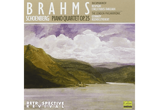 The London Philharmonic Orchestra - Brahms: Piano Quartet Op. 25 [CD]