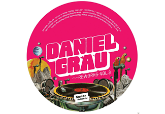 Daniel Grau - Reworks Vol.3 By Los Amigos Invisibles - (Vinyl)