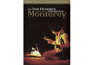 The Jimi Hendrix Experience - Live At Monterey - (DVD)