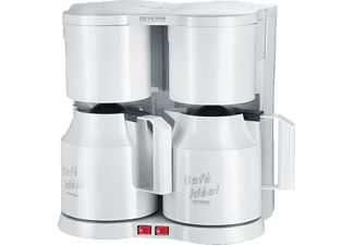 severin ka 5827 duo kaffeemaschine wei filterkaffeemaschine kaufen bei saturn. Black Bedroom Furniture Sets. Home Design Ideas