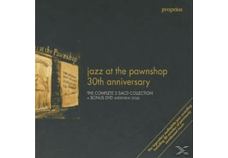 VARIOUS - JAZZ AT THE PAWNSHOP - 30TH ANNIVERSARY (+DVD) [CD]