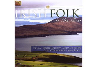 VARIOUS - Irish Folk At Its Best [CD]
