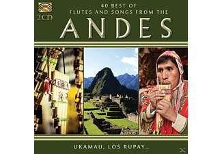 Ukamau, Ukamau Amerindia, Los Rupay - 40 Best Of Flutes And Songs From The Andes [CD]