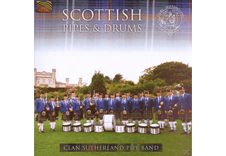 Clan Sutherl Pipe B - Scottish Pipes & Drums [CD]