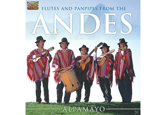 Alpamayo - Flutes And Panpipes From The Andes [CD]