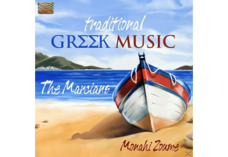The Marcians - Traditional Greek Music-Monahi Zoume [CD]