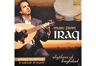 A. & AL-SAADI Mukhtar - Music From Iraq: Rhythms Of Baghdad - (CD)