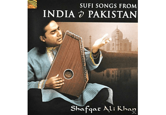 Shafqat Ali Khan - Sufi Songs From India & Pakistan [CD]