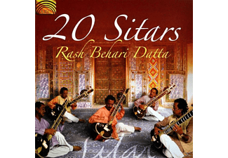 Rash Behari Datta - 20 Sitars - (CD)