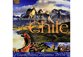 "Conjunto Folclórico ""danzamérica"" De Chile - Beautiful Songs Of Chile [CD]"