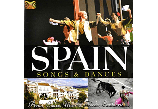 VARIOUS - Spain-Songs And Dances [CD]