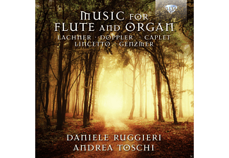 Daniele Ruggieri, Andrea Toschi - Music For Flute And Organ [CD]
