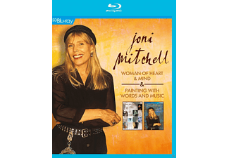 Joni Mitchell - Woman Of Heart & Mind / Painting With Words And Music - (Blu-ray)